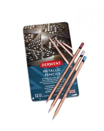 Derwent Metallic 12