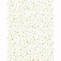 Designkartonki A4,6704, Tähti kultafolio