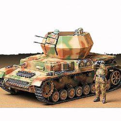 Tamiya German Flakpanzer IV Wirbelwind Ilmatorjuntapanssarivaunu