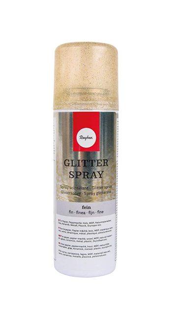 Glitterspray kulta, 125ml