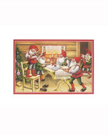 Joulujuliste, M08 Tontut joulupöydässä