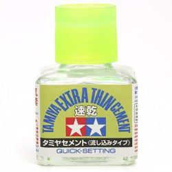 Tamiya Extra Thin Cement Quick-Setting 40ml